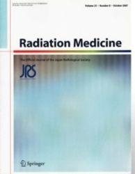 雑誌 Radiation Medicine Volume 25 Number 8 October 2007