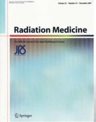 雑誌 Radiation Medicine Volume 25 Number 10 December 2007