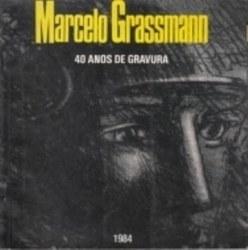 書籍 Marcelo Grassmann 40 anos de gravura 1984
