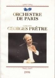 書籍 ORCHESTRE DE PARIS GEORGES PRETRE 1998