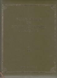 雑誌 Mille Menus De Nouvelle Guisine Frangaise 3 現代フランス料理大全集 Book LOAN