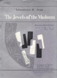 書籍 Intermezzo II from The jewels of the madonna 鱸真次 水星社