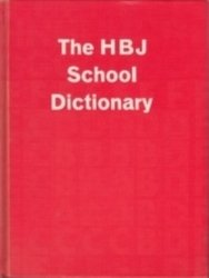 書籍 The H B J School Dictionary Harcourt Brace Jovanovich