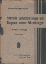 書籍 Spezielle Symptomatologie und Diagnose innerer Erkrankungen Zweite Auflage Berlin