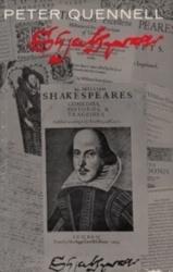 書籍 Peter Quennell Shakespeare Weidenfeld & Nicolson