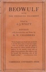 書籍 Beowulf A・J・Wyatt Cambridge
