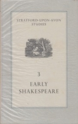 書籍 Stratford upon avon studies 3 Early Shakespeare Arnold