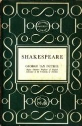 書籍 Shakespeare George Lan Duthie Hutchinson