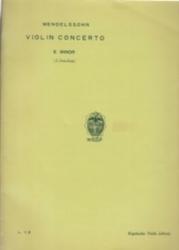 書籍 Violin Concerto Mendelssohn E Minor Kogakusha