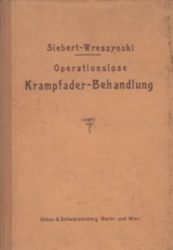 書籍 Krampfader-Behandlung Siebert-Wreszynski Berlin