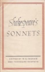 書籍 Shakespeare s Sonnets W・G・INGRAM London