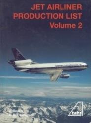 書籍 JET AIRLINER PRODUCTION LIST Volume 2 tahs