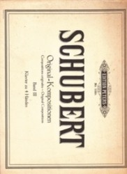 書籍 Schubert Original Kompositionen Band III Edition peters Nr 155