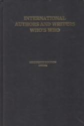 書籍 International Authors and writers who s who Fifteenth edition 1997・98