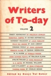 書籍 Writers of To-day volume 2 Denys val baker