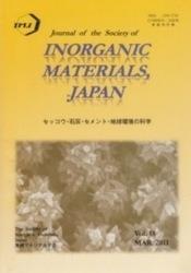 洋雑誌 Journal of the Society of Inorganic Materials Japan 2011 MAR 無機マテリアル学会