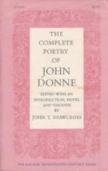 書籍 The Complete poetry of John Donne John T Shawcross Anchor Aco-11