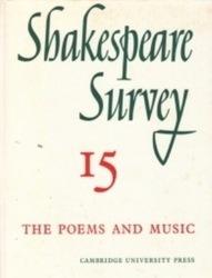 書籍 Shakespeare survey 15 Cambridge