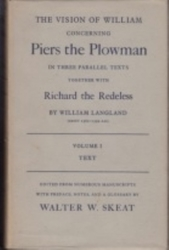 書籍 Piers the Plowman and Richard the Redeless vol 1 Langland s Oxford