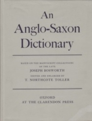 書籍 An Anglo-Saxon Dictionary Bosworth and toller OXFORD