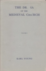 書籍 The Drama of the Medieval Church vol 1 Young Oxford