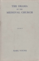 書籍 The Drama of the Medieval Church vol 2 Young Oxford