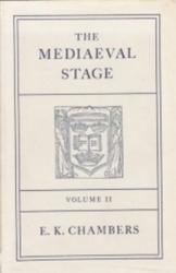 書籍 The Mediaeval stage volume 2 E・K・Chambers Oxford