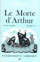書籍 Le Morte d Arthur in two volumes Vol 2 Malory Dent Dutton