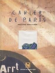 書籍 Cahier de paris Arielle picaud Michel le louarn Garde temps