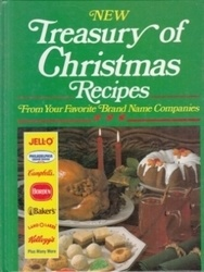 書籍 New Treasury of Christmas Recipes Publications international