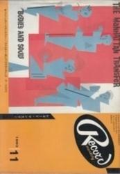 雑誌 レコード・マンスリー 1983年11月号 日本レコード振興株式会社