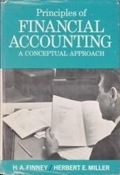 書籍 Principles of Financial Accounting H・A・Finney Prentice hall