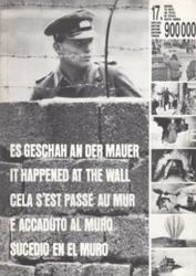 書籍 Es geschah an der mauer it happened at the wall cela S est passe au mur