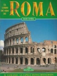 書籍 El Libro de oro de Roma Espanola Bonechi