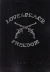 書籍 Love&Peace Freedom roar 2015 Spring Summer