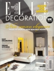 書籍 Elle Decoration No 188 April 2008 New season elegance