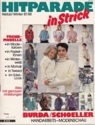 書籍 Hitparade in strick Herbst winter 87 88