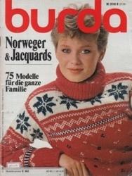 洋雑誌 burda Norweger&Jacquards 75 Modelle fur die ganze Familie