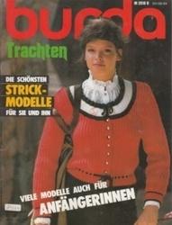 洋雑誌 burda Trachten Die Schonsten Strick-Modelle