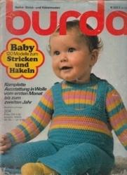 洋雑誌 burda Baby 120 Modelle zum Stricken und Hakeln