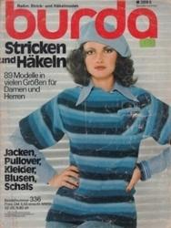 洋雑誌 burda Stricken und Hakeln 89 Modelle in vielen GroBen fur Damen und Herren
