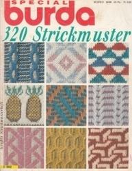 洋雑誌 burda Special 320 Strickmuster