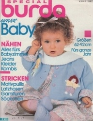 洋雑誌 burda Special Baby Nahen alles furs babyzimmer