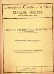 書籍 Enseignement Complet de la Flute Grandes Etudes Caracteristiques Marcel Moyse