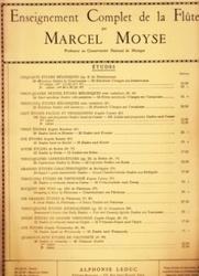 書籍 Enseignement Complet de la Flute Etudes Marcel Moyse