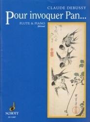 書籍 Pour invoquer Pan Flute&Piano Claude Debussy Schott