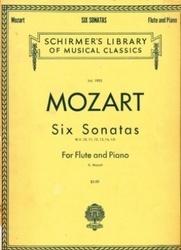 書籍 Schirmer s Library of musical classics vol 1905 Mozart six sonatas for the flute