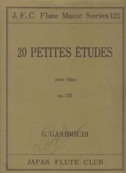 書籍 20 Petites Etudes pour flute op 132 G・Gariboldi JFC Flute music series 121