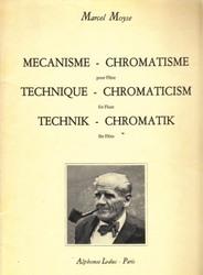 書籍 Mecanisme Chromatisme pour Flute Marcel Moyse Alphonse Leduc
