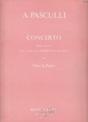 書籍 Concerto Sopra Motivi for Oboe&Piano A・Pasculli Musica Rara